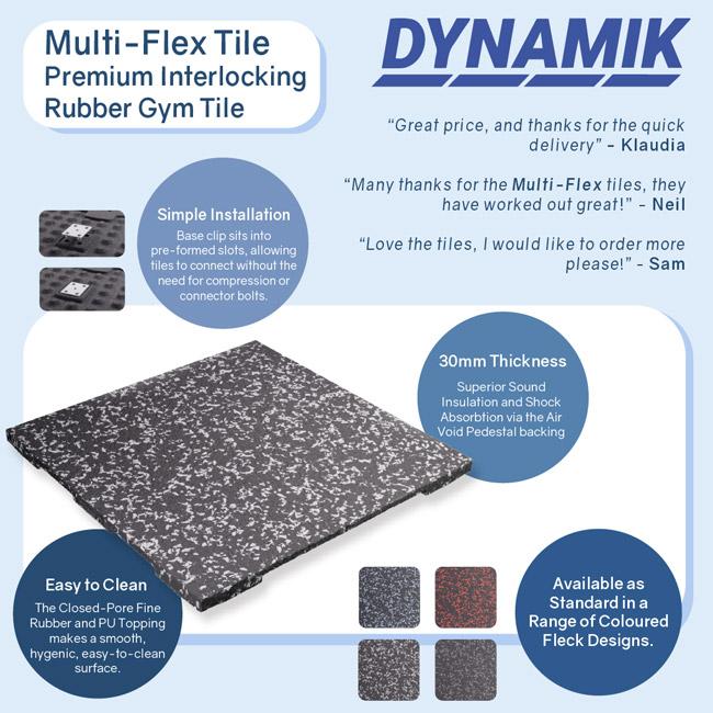 DYNAMIK MUlti-Flex Tile Infographic