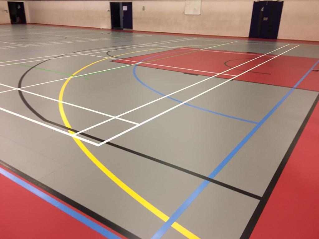 West London College Floor Installation