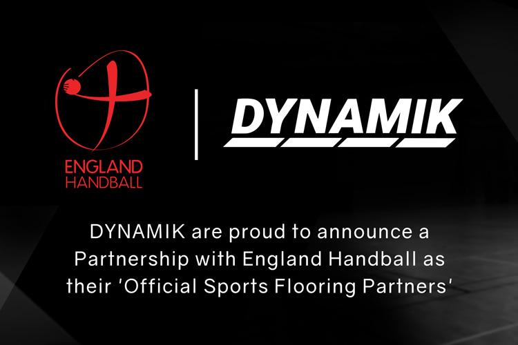 DYNAMIK and England Handball Enter a Multi-year Partnership