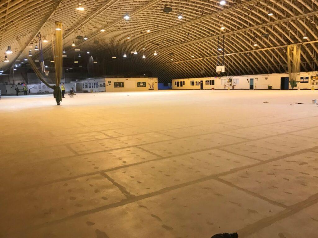 RAF Colerne hanger