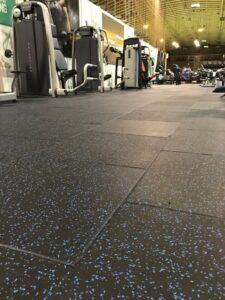 RAF Colerne Gym Flooring
