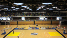 basketball rollout court