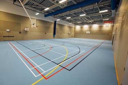 flexi-beam plus sports floor