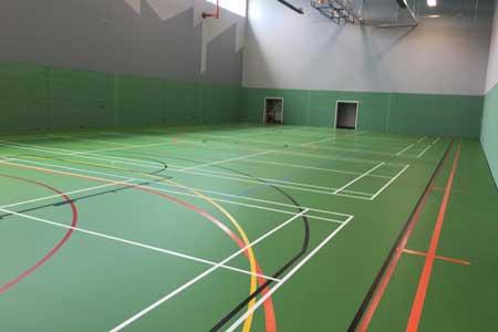 green komfort plus sports floor