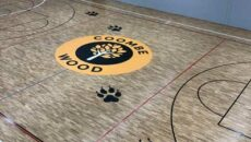 Coombe Wood School finished bespoke court