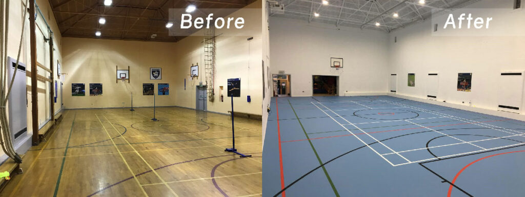 fulneck school before and after comparison