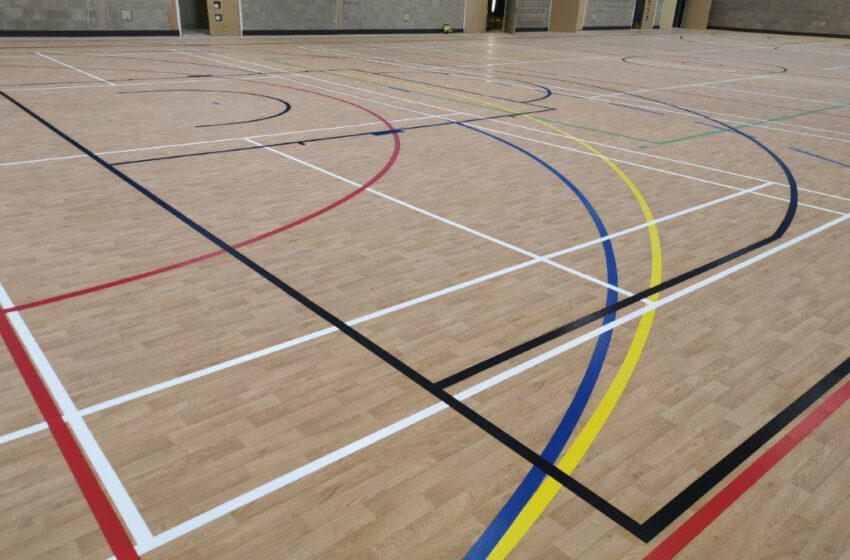 guildford county school multi-purpose sports floor