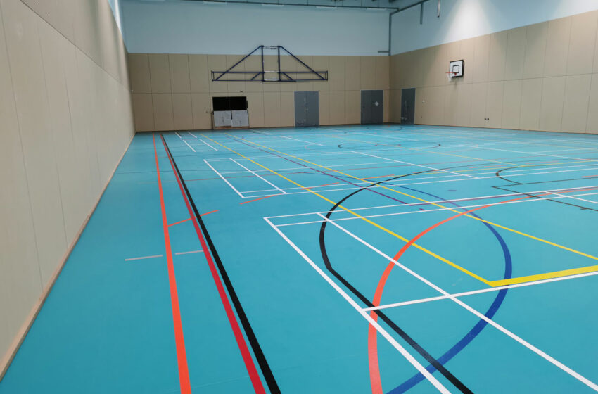 Harris Wimbledon synthetic floor