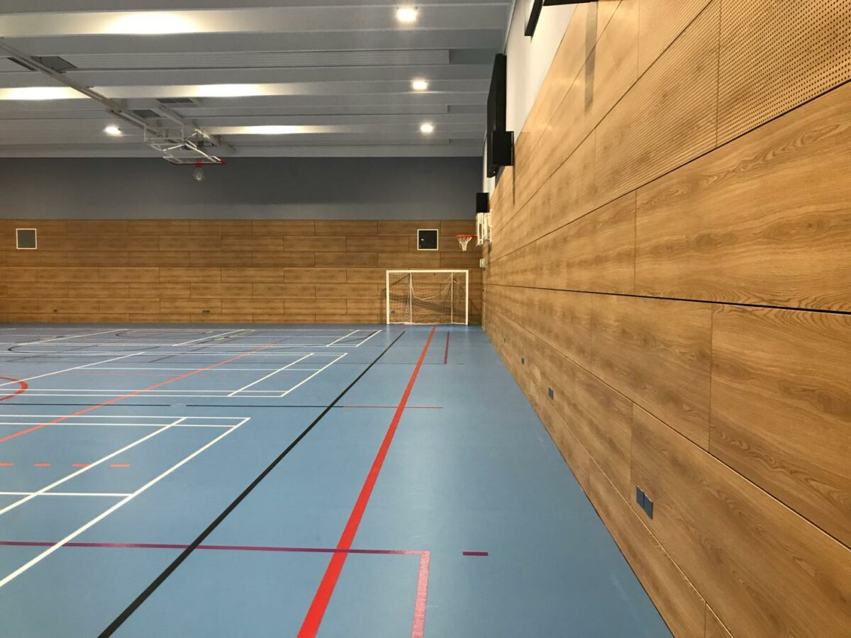 acoustic sports walling cover