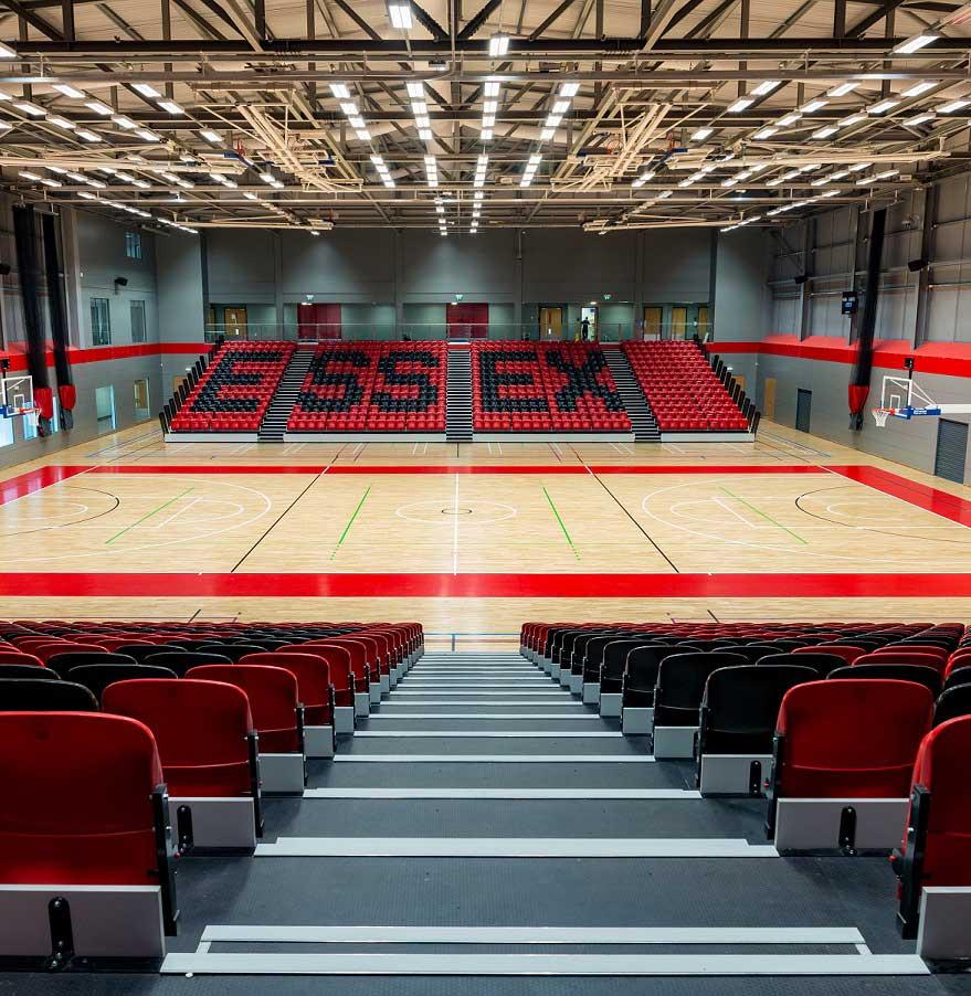 essex university sports floor