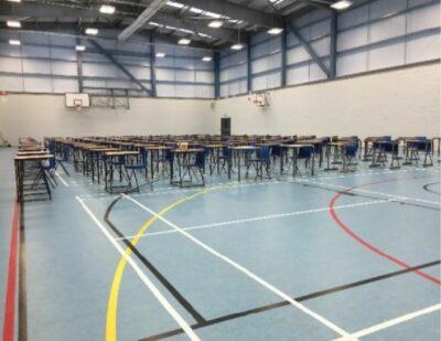 sports flooring exam chairs