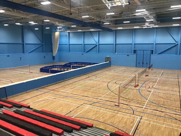 Lancaster Sport University multi-purpose sports floor