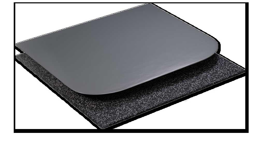 point elastic flooring