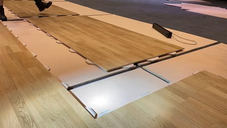 SportServe Portable Floor
