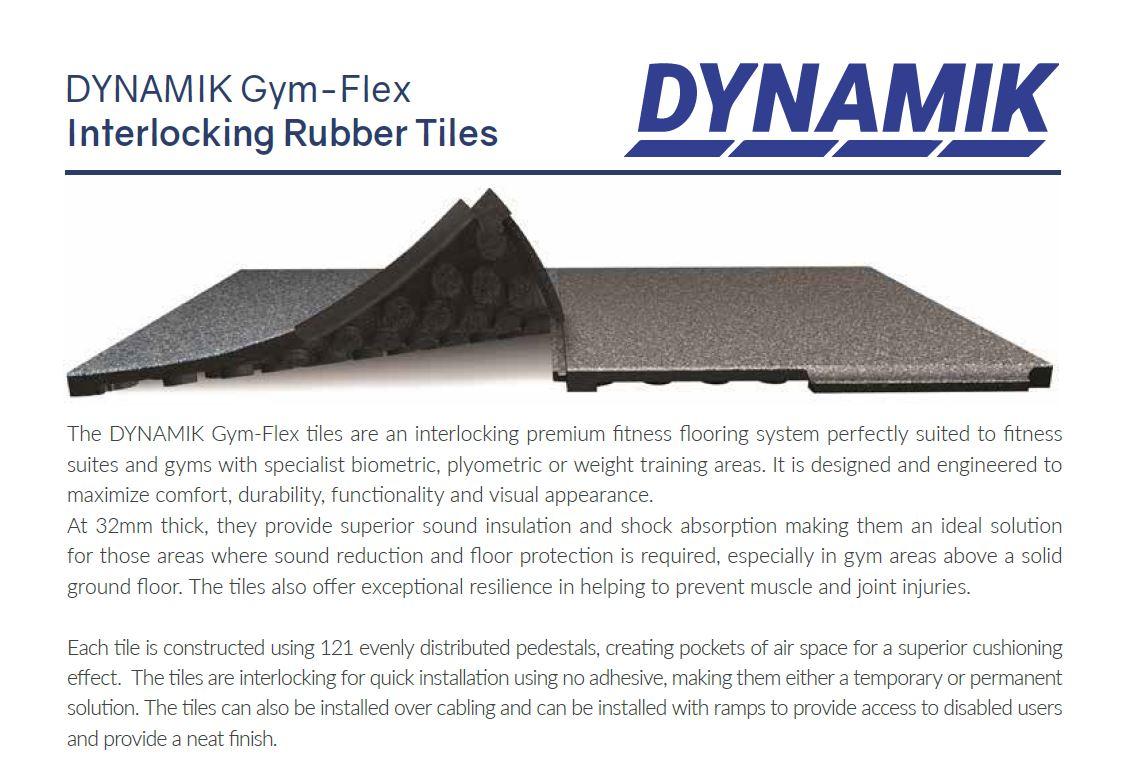 Gym-Flex Rubber Tile