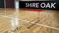 Shire Oak New Sports Floor