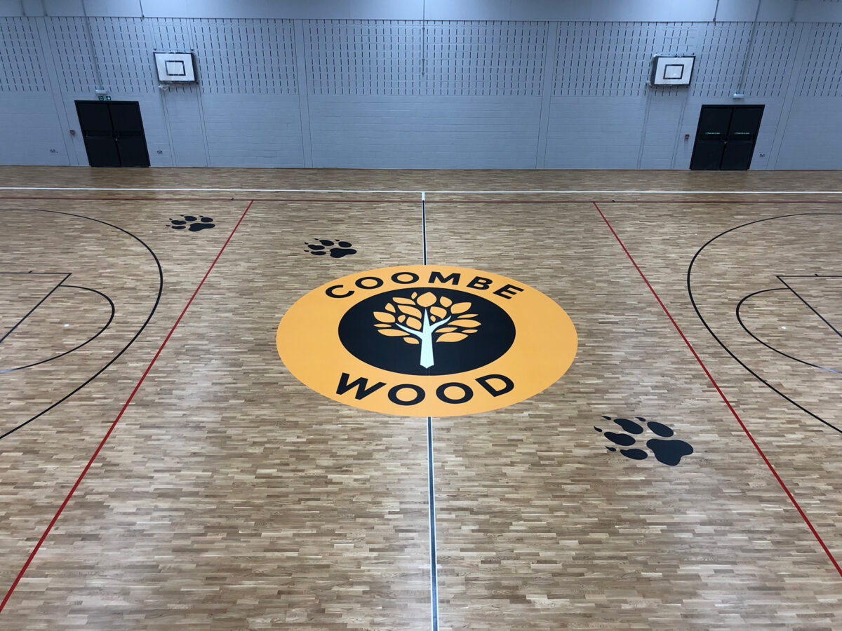 combe wood sports floor