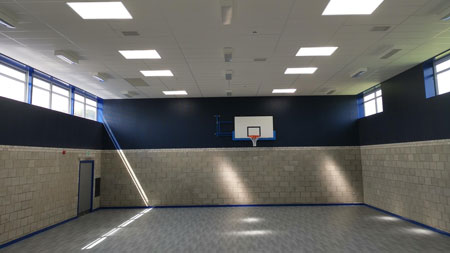 cheadle gym sports walling wide