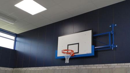 cheadle gym sports walling